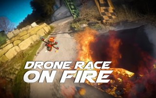 Drone on Fire-1