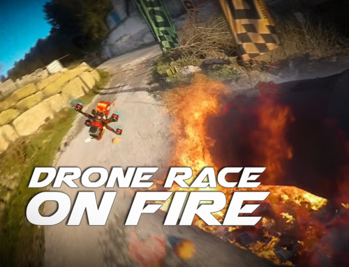 Drone race on Fire – DDC Racing Fuego Pasión y Carreras a 120FPS