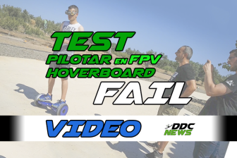 test fpv hoverboard