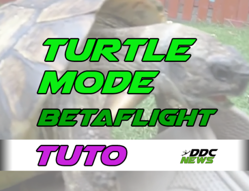 Betaflight turtle mode (modo tortuga)
