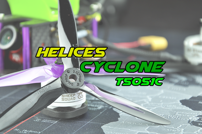 Hélices tripala: review Cyclone T5051C